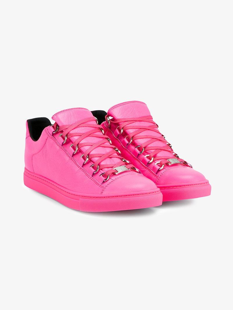 pink balenciaga shoes